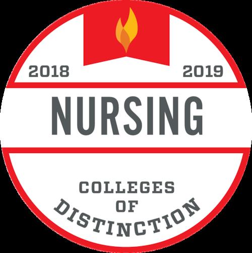 Colleges of Distinction Nursing Badge