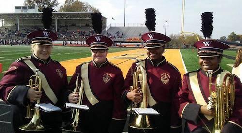 Walsh University Marching Band Music Department