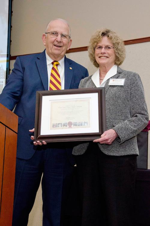 Dean Carole Mount Honored