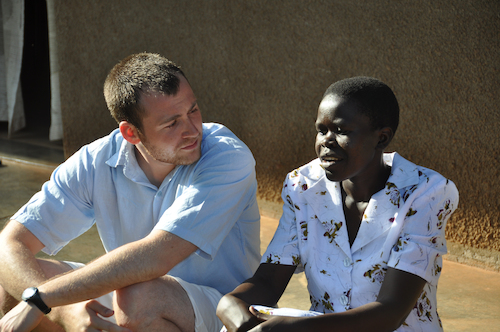 Photo of Walsh University Counseling Student in Uganda