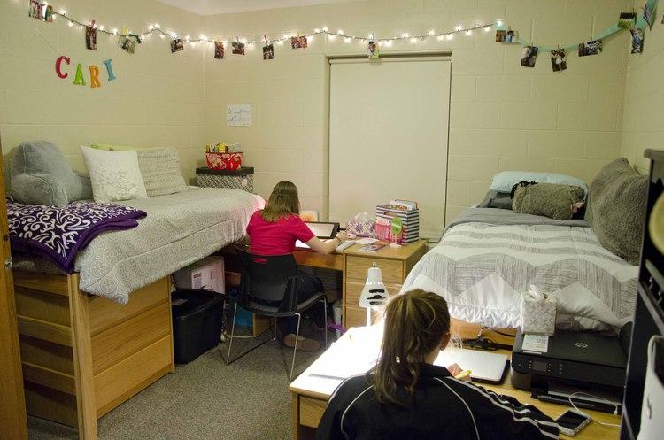 Walsh University Dorm Room Layout