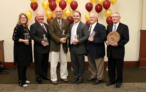 Jackie Novak, Frank D'Angelo, Ken Shook, Steve Weigand, Gary Ranalli and Dan Cunningham