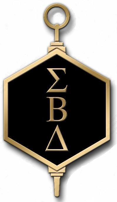 the greek letter crest for sigma beta delta