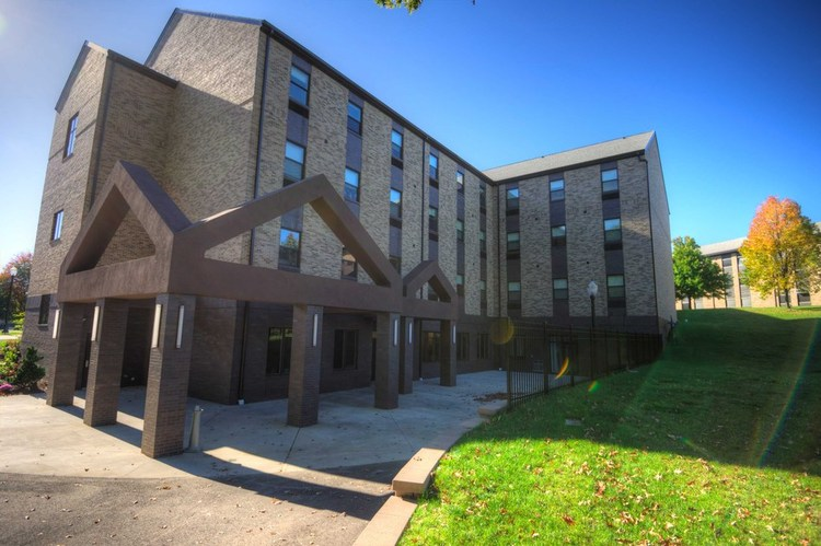 The Commons Walsh University Residence Halls
