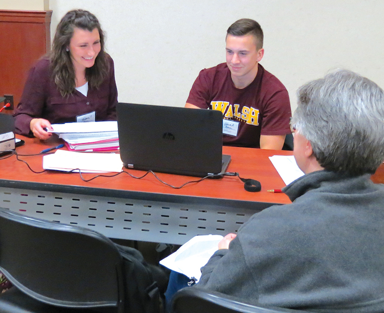 Students provide free tax assistance to low-income families