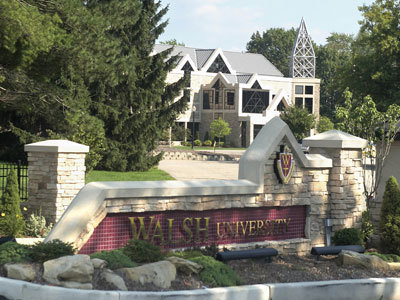 Walsh University campus
